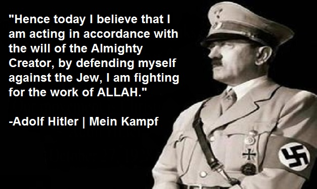 Hitler a Muslim